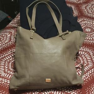 Kooba taupe leather purse